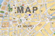 map with prague hostel tyn location