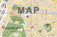map with prague hostel pension 15 location