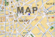 map with prague pension u zlateho jelena location